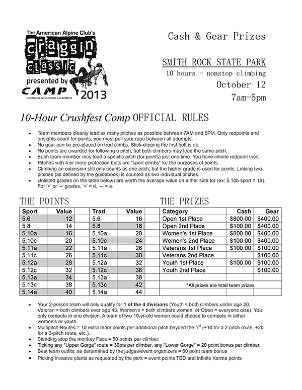 1Page---2013-CAMP-Crushfest-Comp-at-Smith-Rock---Rules--Prizes